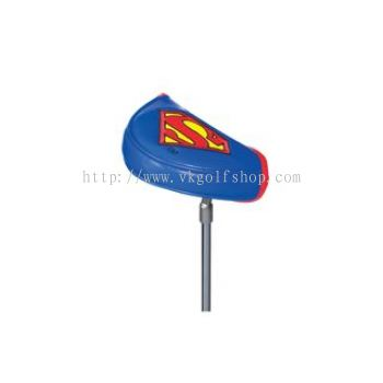 Creative Cover Superman Putter Mallet Club Headcover