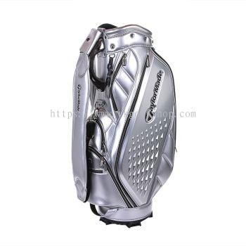 TaylorMade Premium Classic Caddie Bag (Silver)