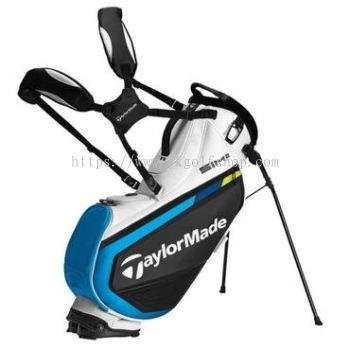 New Taylormade TM21 SIM2 Tour Golf Stand Bag - Black / White / Blue
