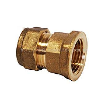 """Copper Fittings Socket CxF.I. 22mm x 3/4"""""""