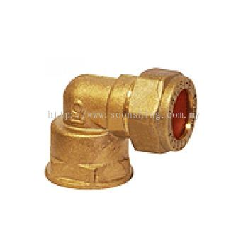 "Kembla Copper Fittings Elbow CxFI 15mm x 1/2"""