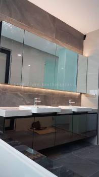 Wash basin cabinet 11