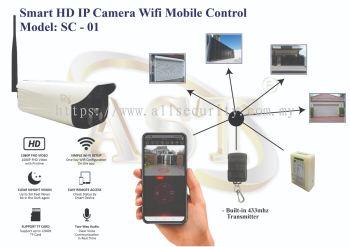 SMART HD IP CAMERA WIFI MOBILE CONTROL SC-01