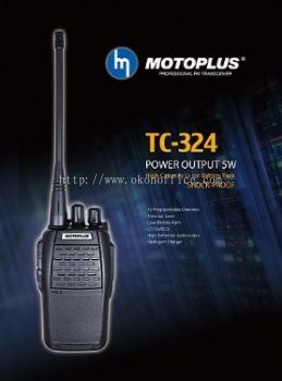MOTOPLUS WALKIE TALKIE TC-324