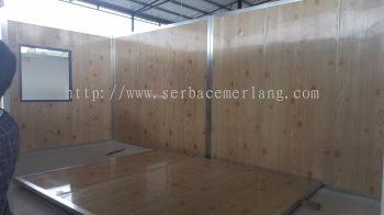 Wood Grain Texture Walling Cabin