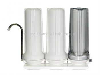 10;quot; Triple Filtration System - Clear