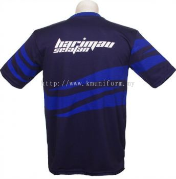 KM Uniform JDT Round Neck Back