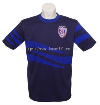KM Uniform JDT Round Neck Front