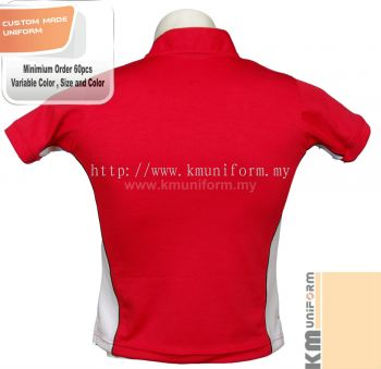 Custom Made Polo Tee Uniform (120)