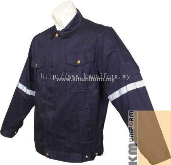 KM Work Jacket C-T-61203 Navy (1)