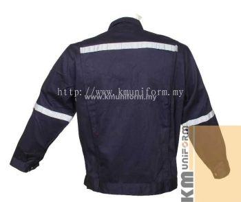 KM Work Jacket C-T-61203 Navy (2)