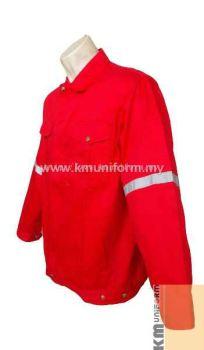 KM Work Jacket C-T-61203 RED (1)