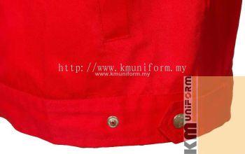 KM Work Jacket C-T-61203 RED (3)