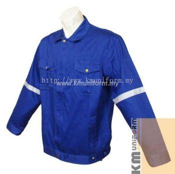 KM Work Jacket C-T-61203 Royal (1)