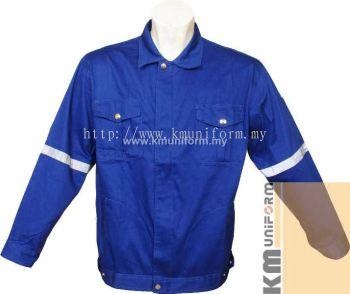 KM Work Jacket C-T-61203 Royal