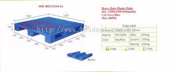 Heavy Duty Plastic Pallet Size 1200*1200*160mmH