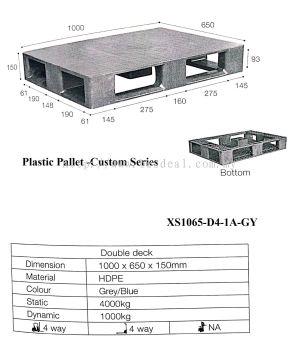 Plastic Pallet Size 1000*650*150mmH
