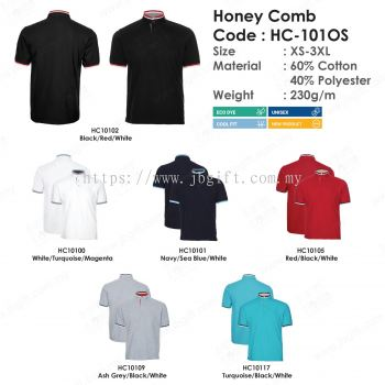 Uniform Honey Comb T-Shirt HC-101OS