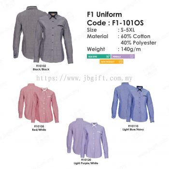 F1 Corporate Uniform F1-101OS