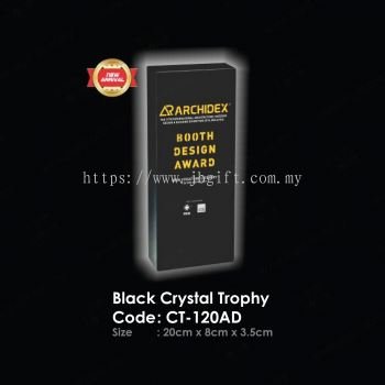 Black Crystal Trophy CT-120AD