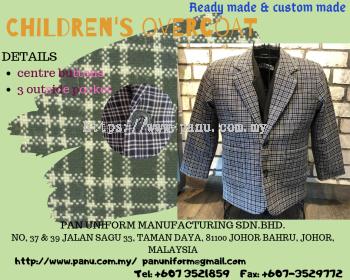 children's overcoat