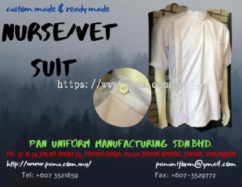 Nurse/vet suit