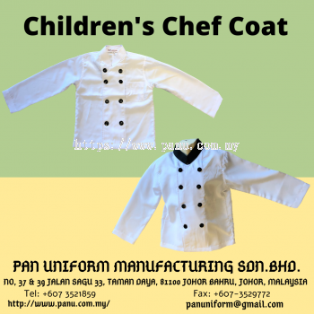 children's chef coat