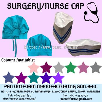 surgery/nurse cap