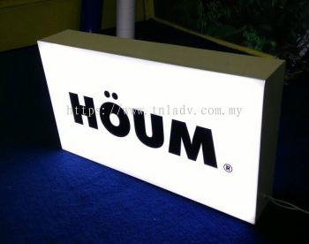 small LED lightbox