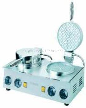 Fun Hut Waffle Cake machine