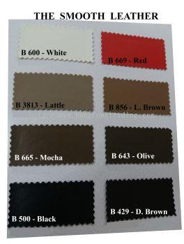 The Smooth Leather B600 . B669. B3813. B856. B665. B643. B500. B429