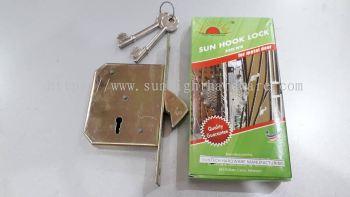 SUN HOCK LOCK (FOR METAL DOOR)