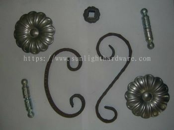 WROUGHT IRON ACCESSORIES