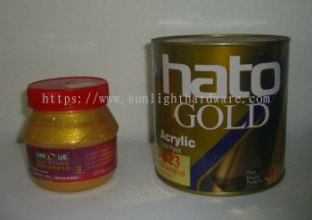 GOLD PAINT FOR IRON GATE