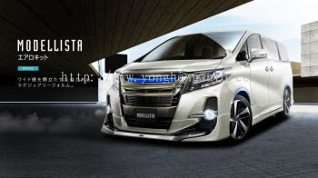 Toyota Alphard 2015 AeroBody