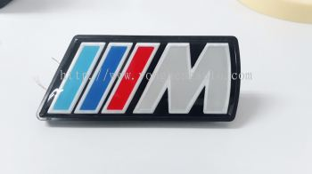 BMW M Sport LED Light Front Grill Badge