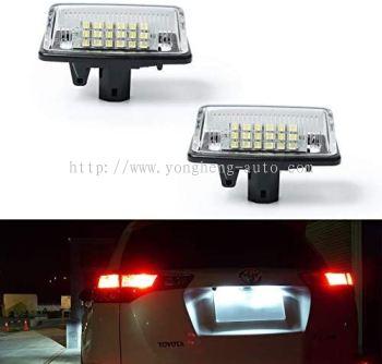 Rear License Plate LED Light [TE125]