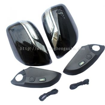 FJ200 Side Mirror Cover With LED [FJ010]