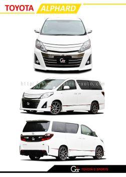 Toyota Alphard G-Sport 2012