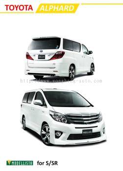 Toyota Alphard 2012 Modellista for S /SR