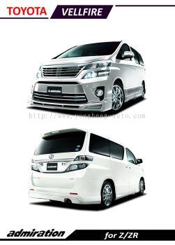 Toyota Vellfire 2012 Admiration [Modellista]