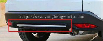 rear bumper Chrome Cover