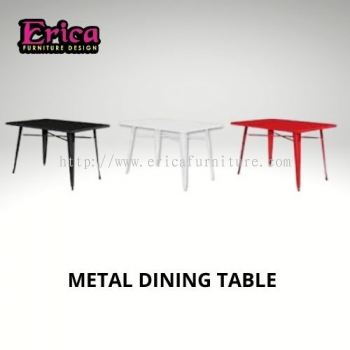 Erica metal dining table T20