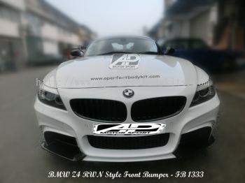 BMW Z4 RWN Style Bumperkits