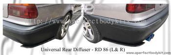 Universal Rear Diffuser (L & R)