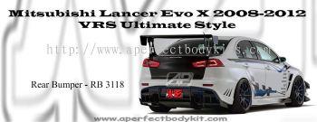 Mitsubishi Lancer EX EVO X VRS Ultimate Rear Bumper