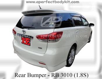 Toyota Wish 2009 1.8S Rear Bumper
