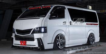 Toyota Hiace SA Style Fender Archs