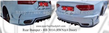 Audi A5 RWN Rear Bumper (For 4 Door)
