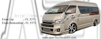 Toyota Hiace High Roof Front Lip & Front Bottomline